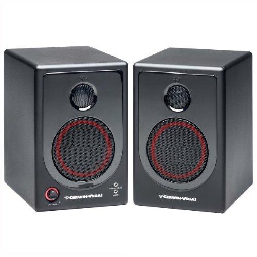 Cerwin Vega XD4 Active Desktop Monitor Speakers