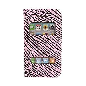 comprar Cebra-raya Skylight Diseño de caso completo de cuerpo con el soporte para el iPhone 4/4s , Rosa
