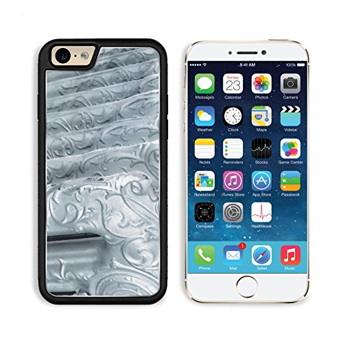 MSD Premium Apple iPhone 6 iPhone 6S Aluminum Backplate Bumper Snap Case IMAGE 30567578 Vintage radiator with decorations and a silver -