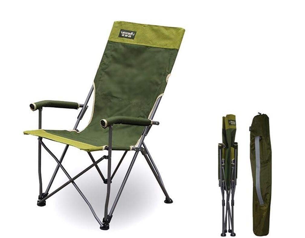 TTYY Mond Stuhl Fischen-Hinterhof, der im Rest-Stuhl Freien faltenden Rest-Stuhl im mit Handläufen kampiert 289c39