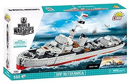 COBI World of Warships ORP Blyskawica Battleship