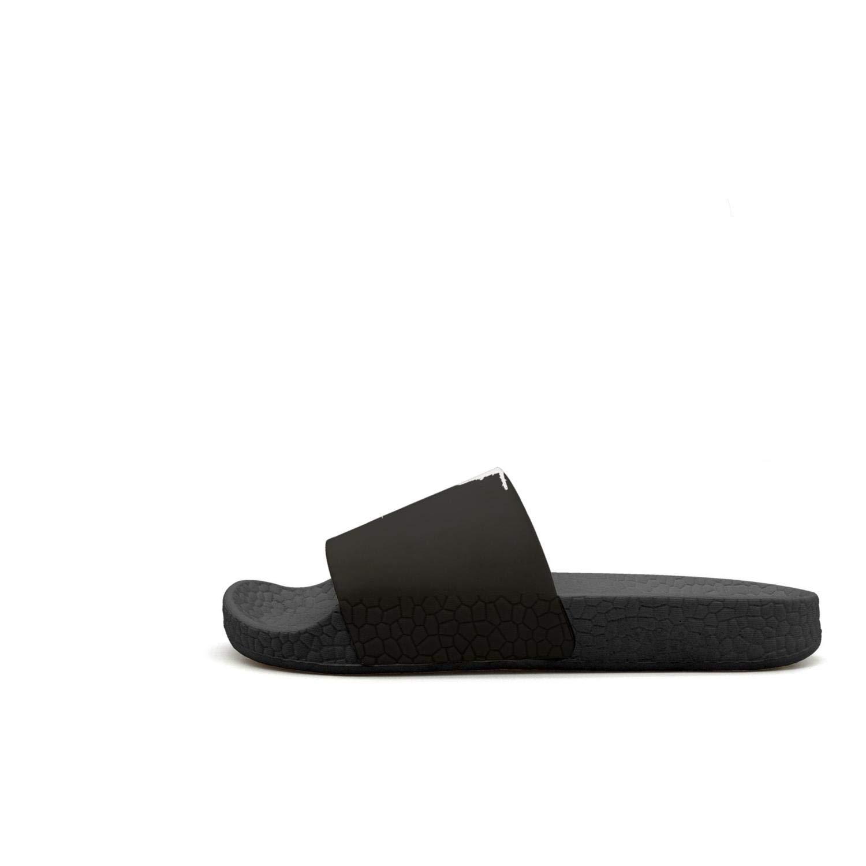 Mens Outdoor Shower Slides Resilience Open Toe Sandals Slipknot-Vector-Logo