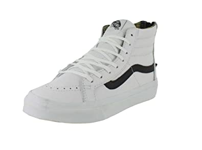 23f3342e66 Image Unavailable. Image not available for. Color  Vans Unisex Lizard  Emboss SK8-Hi Slim Zip Sneaker ...