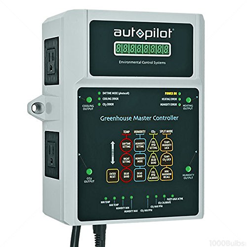 Autopilot Master Greenhouse Controller w/Remote 15' CO2 & Light Probe | APCECOTH