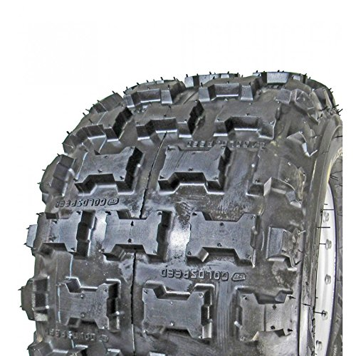 Pair of Goldspeed MXR (blue) 18x10-8 Race Tires and Free Unhinged ATV Hat! by Goldspeed (Image #2)