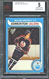 #2: 1979-80 topps #18 WAYNE GRETZKY edmonton oilers AUTHENTIC rookie card BGS BVG 5 Graded Card