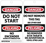 DO NOT START NO ENCENDER