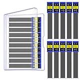 #7: WXJ13 1 Plastic Box 20 Tubes 0.7 mm Hi-Polymer Lead Refills Mechanical Pencil Lead Refills, 240 Pack of Lead