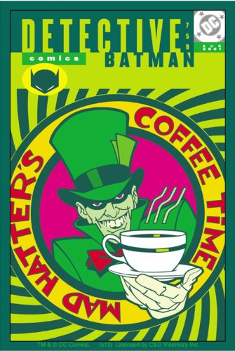 Licenses Products DC Comics Batman Mad Hatter Sticker