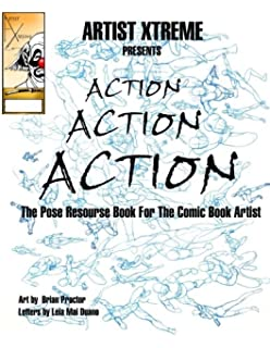 All Girl Action Pose Reference Book: Brian Proctor
