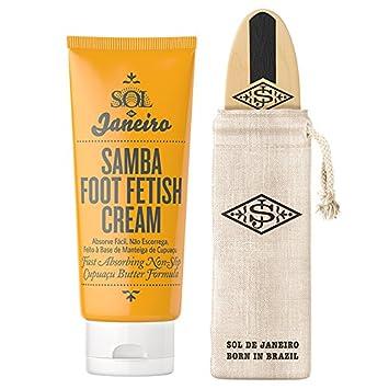 Fetish foot lotion
