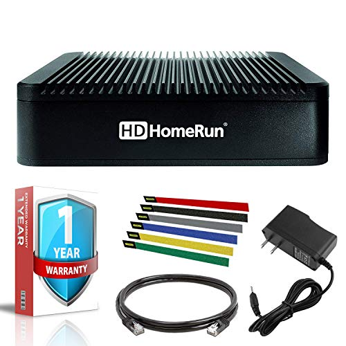 SiliconDust HDHomeRun Extend with Cat5 Ethernet Cable and 1 Year Extended Warranty