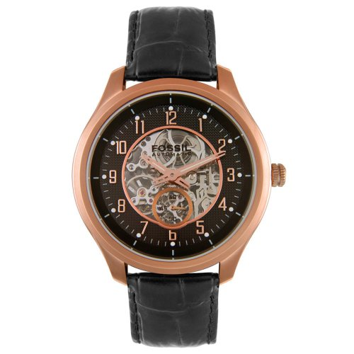 Fossil Men's ME3006 Stainless Steel Skeleton Dial Automatic Watch ()