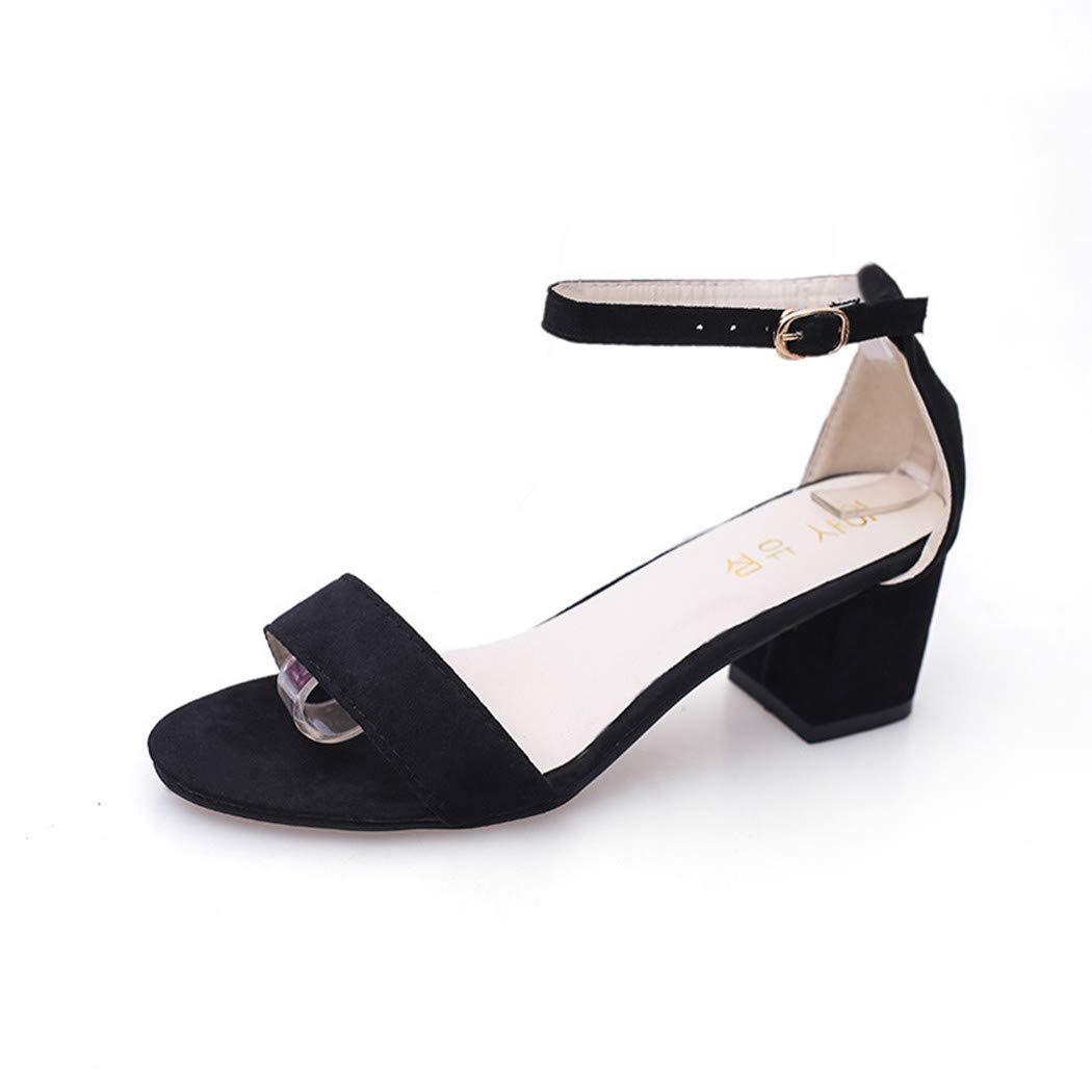 Escarpins B0778KBVJF Femmes à Talons, Mince 19926 Chaussures à Talons Bouts pour Femmes à Bouts Ronds Confortables Chaussures Mode, Féminine Élégant Chaussures de Soirée Élégantes pour Femme Noir 093820a - latesttechnology.space