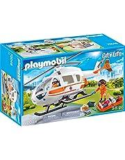 Playmobil City Life 70048 reddingshelikopter, vanaf 4 jaar