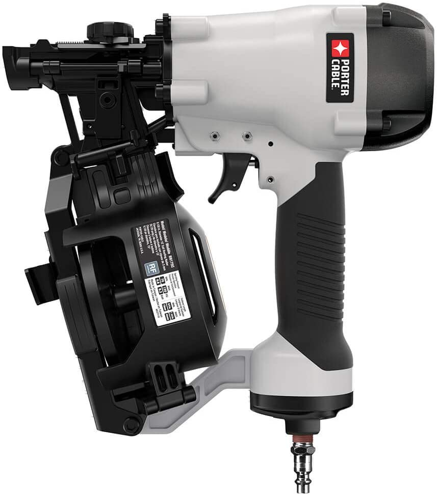 PORTER CABLE RN175C 15 Degree Pneumatic Coil Roofing Nailer