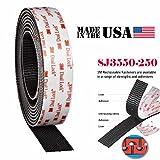 (1 Full Roll) 3M SJ3550 1''Inch x 1800''inch Dual Lock Tape VHB Black Reclosable Fastener