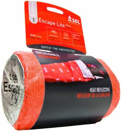 SOL Escape*Lite Bivvy Breathable Survival Sleeping Bag by SOL