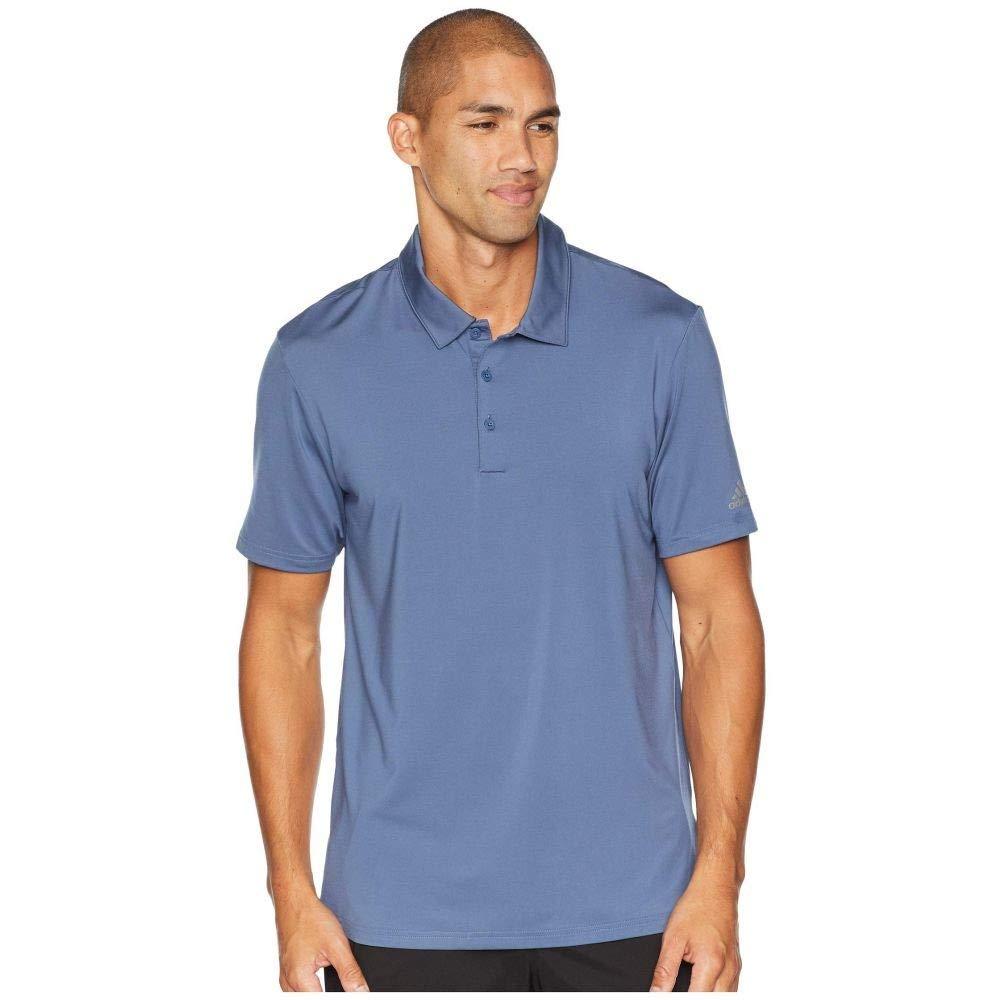 adidas Golf (アディダス) メンズ トップス ポロシャツ Ultimate Solid Polo Tech Ink サイズMD [並行輸入品]   B07NV9B56Z