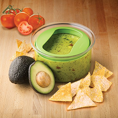 Prepworks by Progressive Fresh Guacamole ProKeeper, Keep Your Guacamole Fresh for Days, Air Tight Sealing Lid, Perfect for Serving by Progressive International (Image #4)