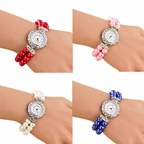 Ikevan-Women-Students-Beautiful-Fashion-Brand-New-Golden-Pearl-Quartz-Bracelet-Watch