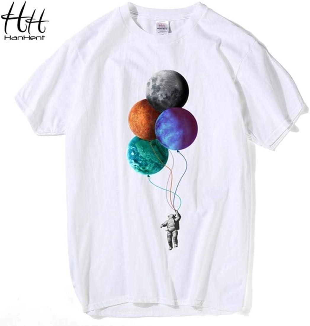 Indian Clothing Store HANHENT HH Cotton O-Neck White Men T Shirt