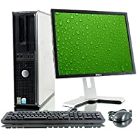 Dell Optiplex Desktop Computer 1.8 GHz Intel Core 2 Duo PC, 2GB, 80GB HDD, Windows 10 Home 64 bits,17 Monitor LCD (Brands Vary), USB Mouse & Keyboard(Certified Refurbished)