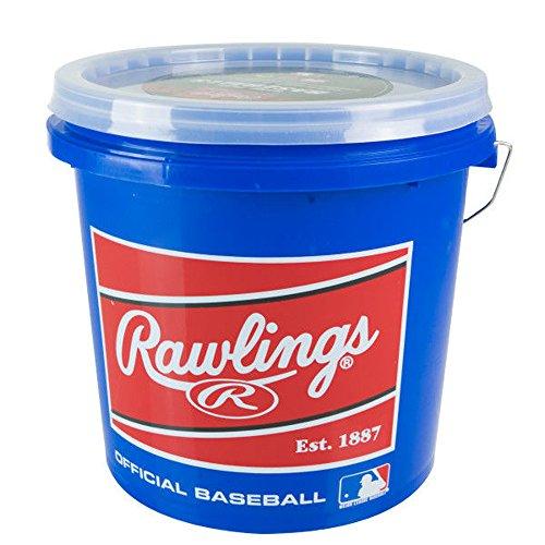 Rawlings Game Play Baseballs, Youth (12U), (Bucket of 24), R12UBUCK24 ()