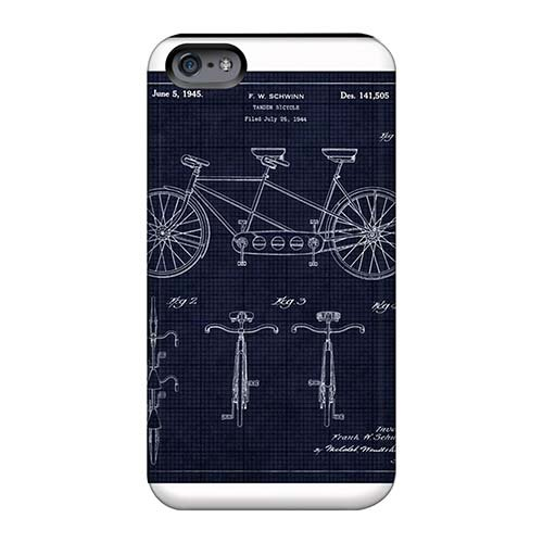 Ultra Slim Fit Hard LEO Yong Cases Covers Specially Made For Iphone 6s- Bicycle Art