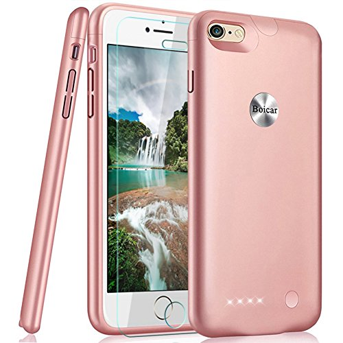 2800mah Power Case for iPhone 7 (Rose Gold) - 1