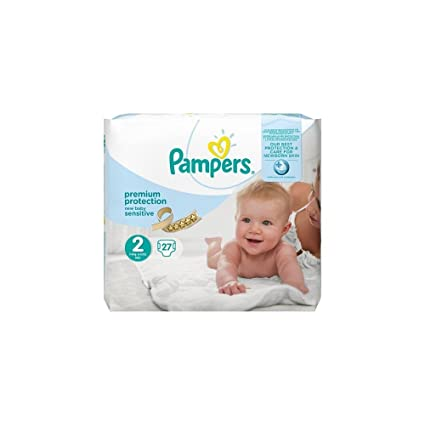 Pampers Premium Protection New Baby Sensitive Pañales para Recién ...