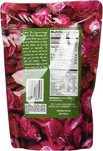 Trader Joe's Freeze Dried Strawberries Unsweetened & Unsulfured 1.2oz by Trader Joe's (Image #4)