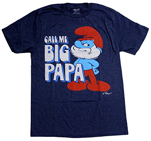 Smurfs Mens Call Licensed T Shirt product image