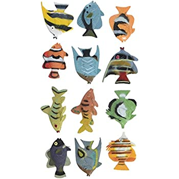 Tropical Fish Luau Party Favors (1 DZ)
