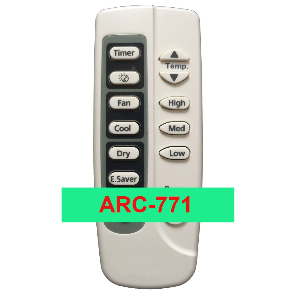 YING RAY Replacment for SAMSUNG Window Portable Air Conditioner Remote Control DB9303027R ARC-771