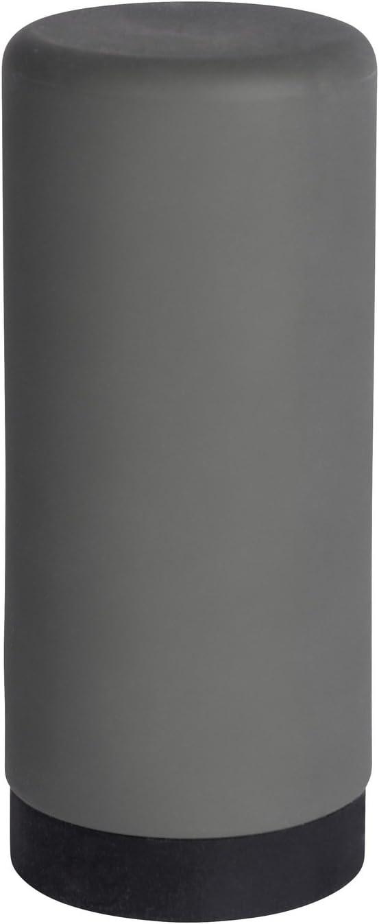 WENKO Easy Squeez-E Dish Washing Liquid Dispenser, Dimensions (W/D x H): Ø 2.36 x 5.51 in, Grey