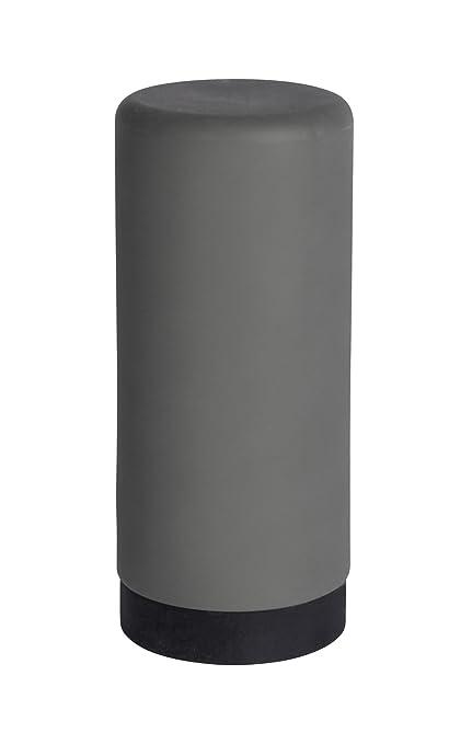 Wenko Easy Squeez-E Dispensador de Detergente 0.25 L, Silicona, Gris, 6x6x14