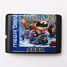 The Adventure Of Batman & Robin 16 bit SEGA MD Game Card For Sega Mega Drive For Genesis ,Sega Genniess-Sega Ninento,16 bit MD Game Card