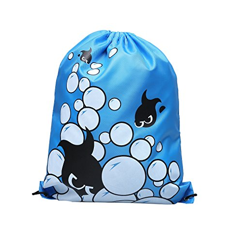 Drawstring Bags for Adults and Kids Light Riding Backpack Outdoor Sports Bags