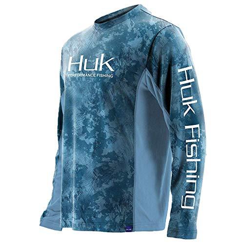 Huk Men's Icon X Camo Long Sleeve Shirt, Flow, XX-Large ()