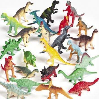Vinyl Mini Dinosaurs Toy for Kids  Gift