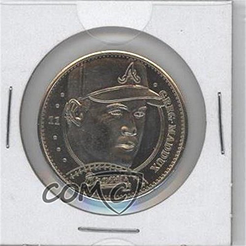 1997 Pinnacle Mint Coins - Greg Maddux (Baseball Card) 1997 Pinnacle Mint Collection - Coins - Nickel #11