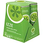 IZZE Fortified Sparkling Juice, Apple (4 Count, 8.4 Fl Oz Each)