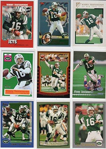 - Vinny Testaverde New York Jets Collectors Football Card Lot