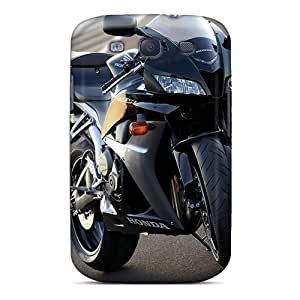 New Fashionable Mialisabblake DqtpwnS4644OSRiZ Cover Case Specially Made For Galaxy S3(honda Cbr 600rr Road)