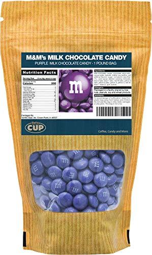 Purple Milk Chocolate M&M's Candy (1 Pound Bag) ()