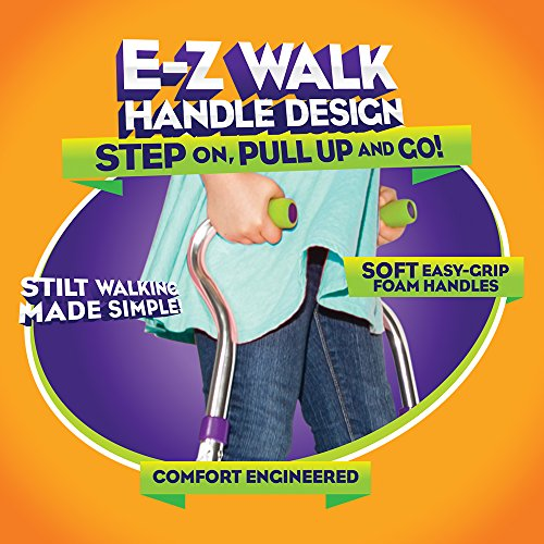Geospace Original Walkaroo Wee Balance Stilts Lite (Aluminum) Beginners Ages 4 up
