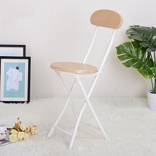 HLQW Chaise Simple Chaise Pliante Chaise En Bois Massif Chaise Tabouret Chaise Portable Accueil