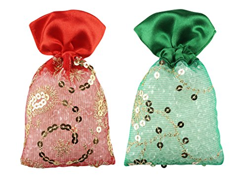 3Pure Perfume Potli Red Rose & Spanish Touch Air Freshener (50gm, Set of 2pcs)
