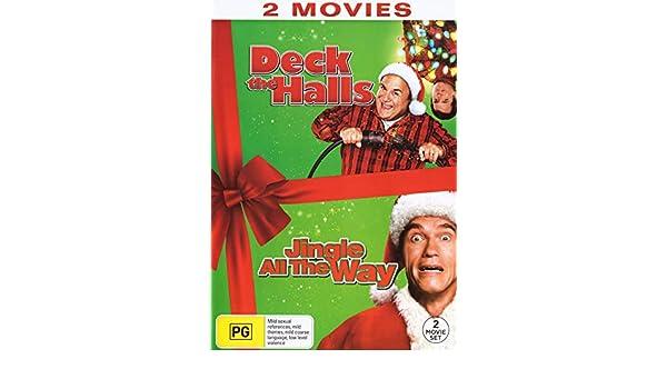 Amazon.com: Deck The Halls / Jingle All The Way | NON-USA Format | Region 4 Import - Australia: Matthew Broderick, Arnold Schwarzenegger, Sinbad Danny ...